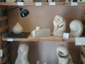 A selection of my carvings for sale in my shop