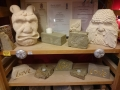 Some more hand carved stone carvings for sale.