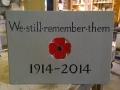 Aylburton War memorial