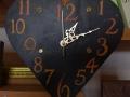 Sunset heart clock