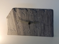 Welsh slate clock, can be made to order
