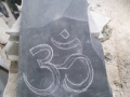 Draft layout for my customers approval, the symbol for Om