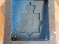 Second rubber mold hard compound