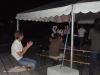 Oystein enjoying the music, Saturday night