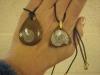 Goniatite pendants