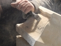 Claw chiselling