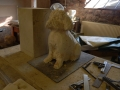 Scally, starting to carve