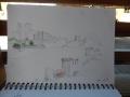Sketch of Dover castle.1JPG