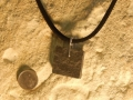 Welsh slate pendant with sterling silver wire 3
