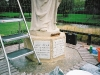 cleaned marble plaques